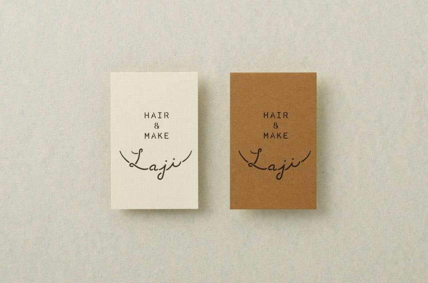 Laji Hair & Make - branding and interior design. Japanese Design Blog
