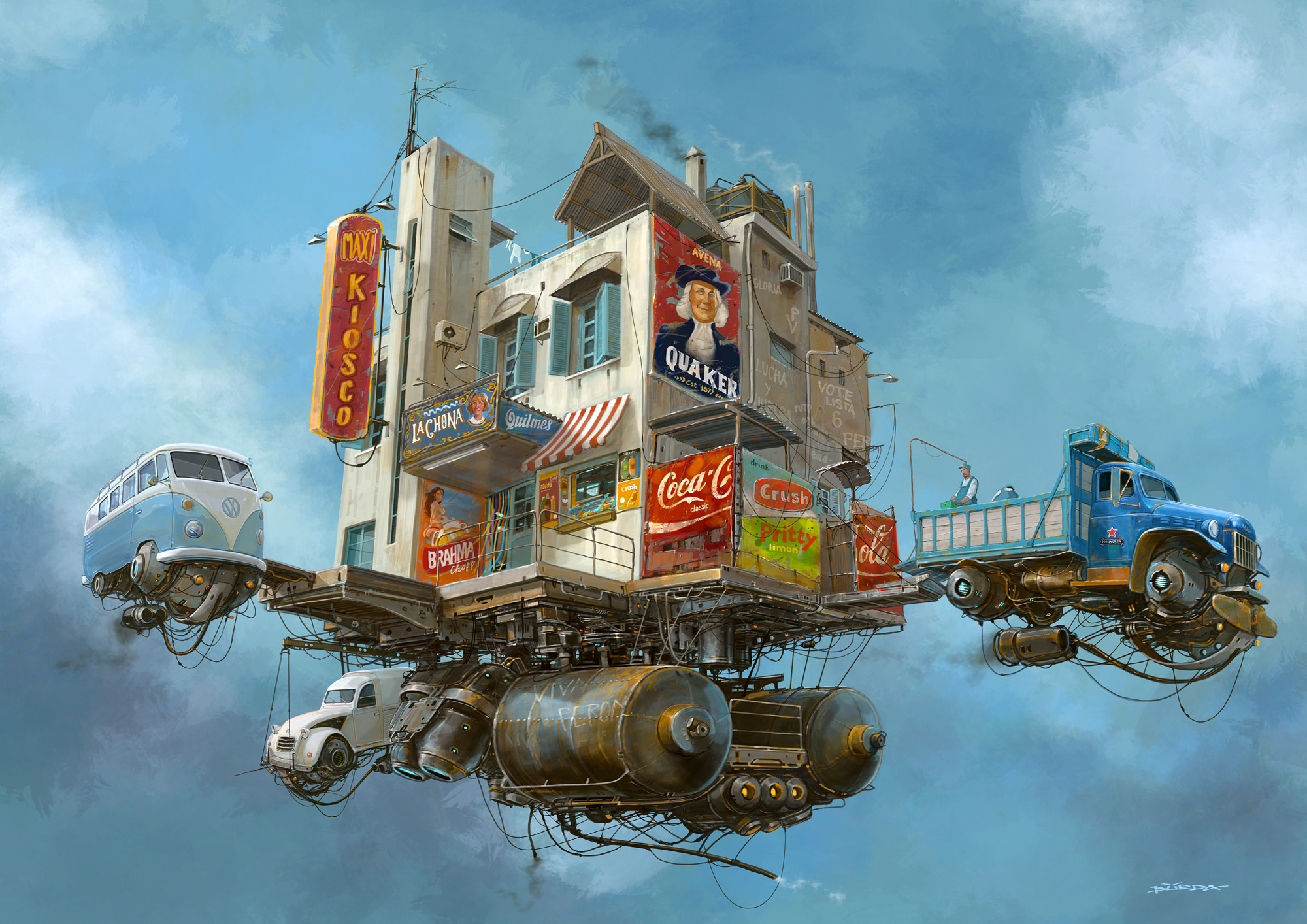 alejandro burdisio - illustration