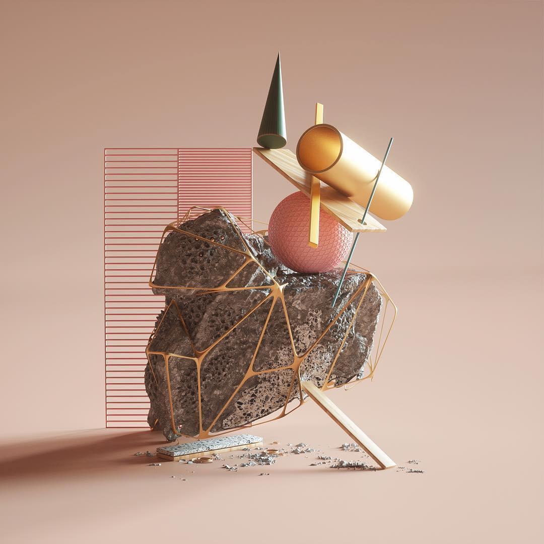 Balance . . 3D by @petertarka